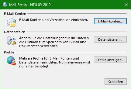 Mail-Setup