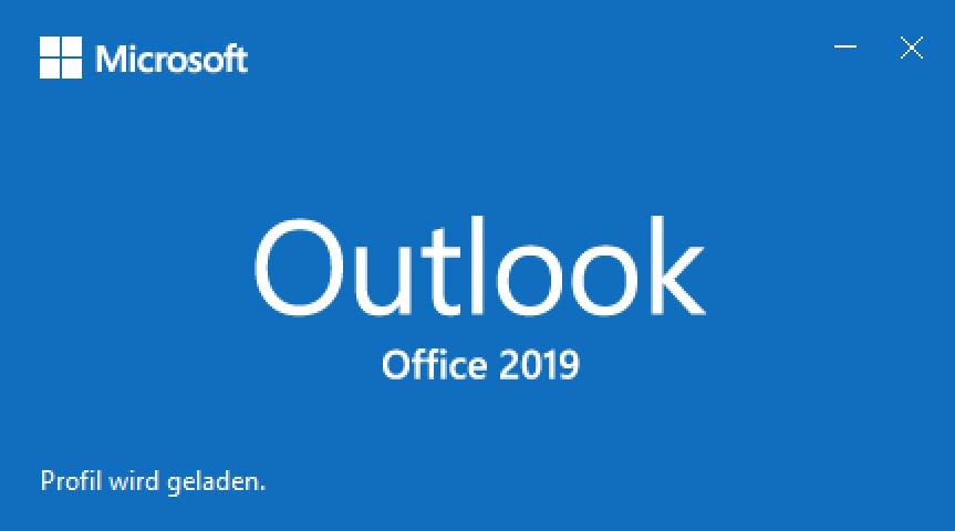 Outlook-Profil-wird-geladen