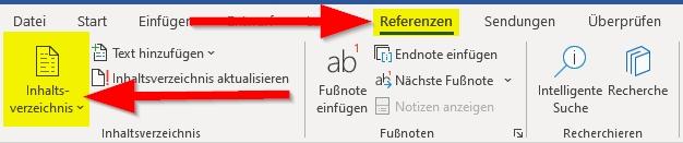 Referenzen-und-Inhaltsverzeichnis-anklicken