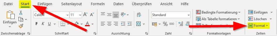 Start-und-Format-anklicken