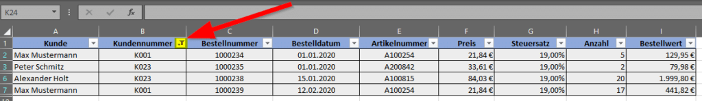 angewendeter-Filter-Filtersymbol