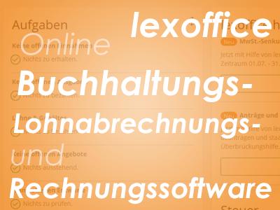 lexoffice - Online Buchhaltungs-, Lohnabrechnungs- und Rechnungssoftware